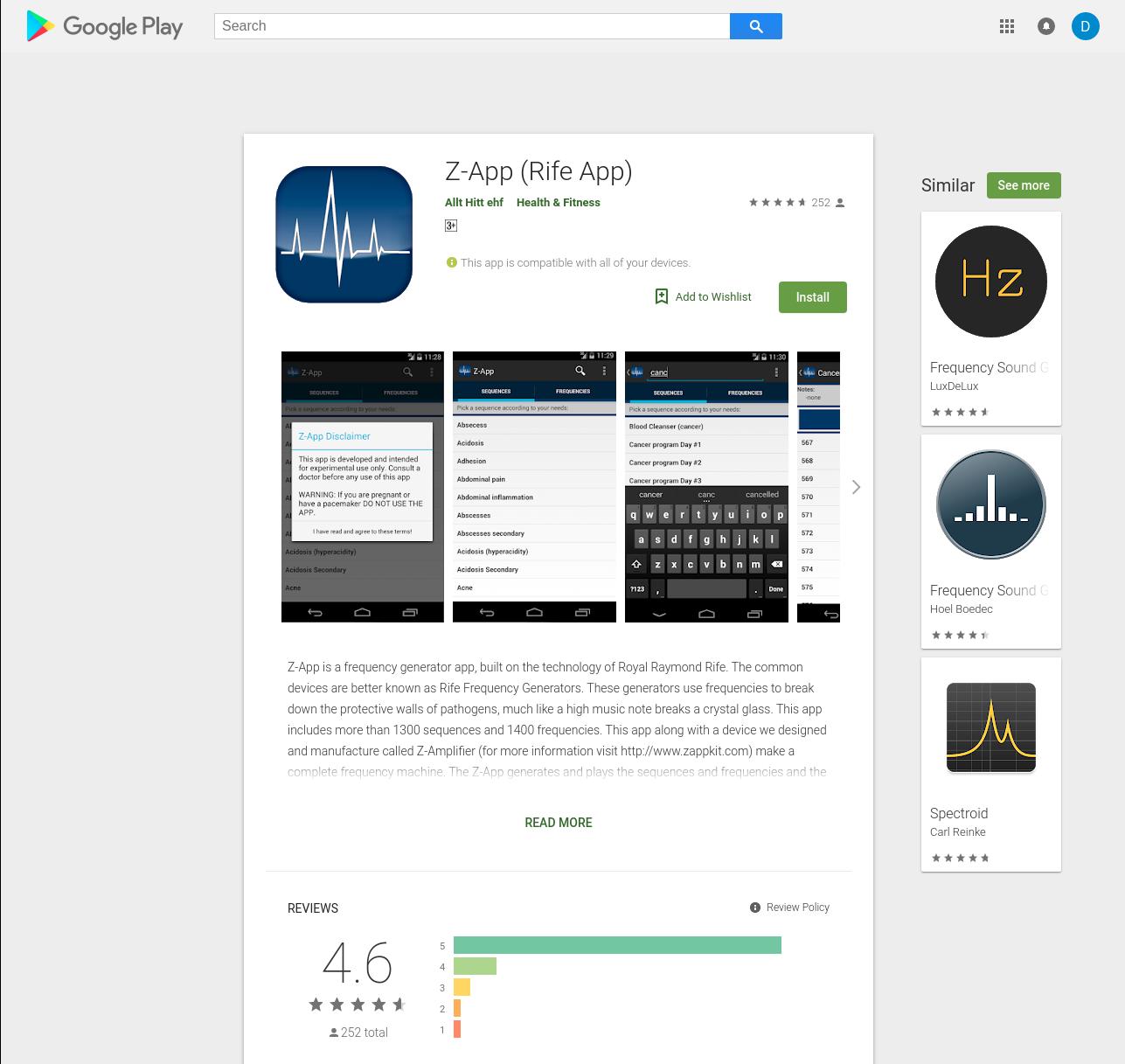 Z-App (Rife App)